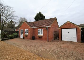 Thumbnail 2 bed detached bungalow for sale in Redmile Lane, Pinchbeck, Spalding, Lincolnshire