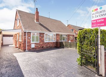 Thumbnail 2 bed semi-detached bungalow for sale in Monkhill Lane, Pontefract