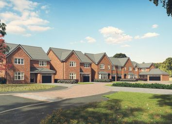 Thumbnail 4 bed detached house for sale in School Lane, Guilden Sutton, Chester