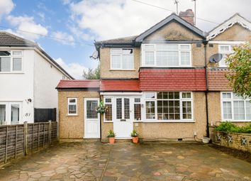 Thumbnail 3 bed semi-detached house for sale in Barton Way, Croxley Green, Hertfordshire