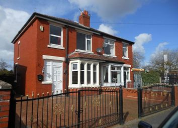 Thumbnail 3 bed semi-detached house to rent in Tudor Avenue, Preston