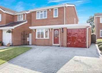 Thumbnail 3 bed detached house for sale in Framlingham Grove, Perton, Wolverhampton