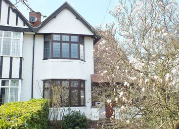 Thumbnail 3 bed semi-detached house for sale in Crackley Crescent, Kenilworth
