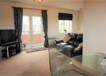Thumbnail 2 bedroom flat for sale in Swarcliffe Approach, Leeds