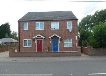 Thumbnail 2 bed semi-detached house to rent in Main Road, Three Holes, Wisbech