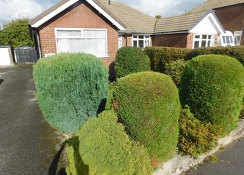 Thumbnail 2 bed semi-detached bungalow for sale in Savernake Road, Woodley, Stockport