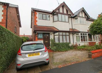 Thumbnail 3 bedroom semi-detached house for sale in Maple Road, Bramhall, Stockport