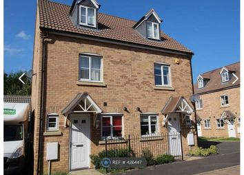 Thumbnail 3 bed semi-detached house to rent in Emperor Way, Peterborough
