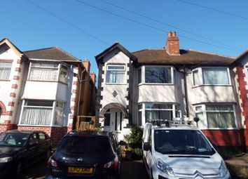 Thumbnail 3 bed semi-detached house for sale in Cateswell Road, Sparkhill, Birmingham, West Midlands