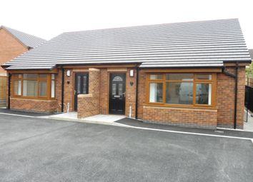 Thumbnail 2 bed semi-detached bungalow for sale in Nursery Road, Leicester
