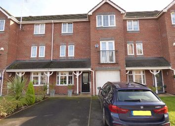 Thumbnail 3 bed town house for sale in Sheldon Drive, Macclesfield