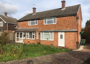 Thumbnail 3 bed semi-detached house for sale in Highfield Close, Pembury, Tunbridge Wells, Kent