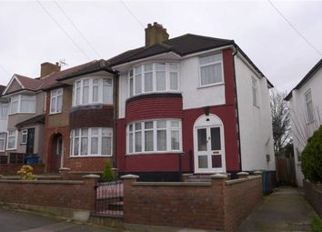 Thumbnail 3 bed semi-detached house for sale in Bengarth Drive, Harrow Weald, Middlesex