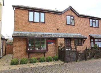 Thumbnail 2 bed end terrace house to rent in Oakham Road, Whissendine, Oakham