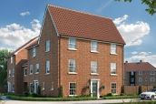 Thumbnail 3 bedroom town house for sale in Blue Boar Lane, Off Wroxham Road, Norwich, Norfolk