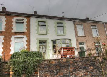 Thumbnail 3 bed terraced house for sale in Maesycoed Road, Pontypridd
