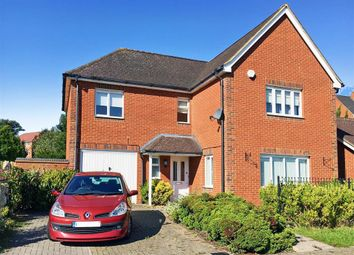 Thumbnail 4 bed detached house for sale in Sir John Fogge Avenue, Ashford, Kent