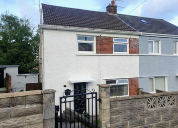 Thumbnail 2 bed semi-detached house for sale in Fron Heulog, Bridgend