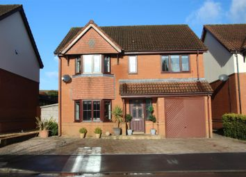 Thumbnail 4 bed detached house for sale in Hazel Grove, Caerphilly