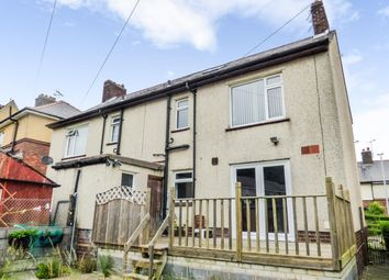 Thumbnail 3 bed semi-detached house for sale in Ffordd Y Castell, Bangor