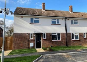 Thumbnail 3 bed end terrace house for sale in Tedder Avenue, Henlow, Bedfordshire