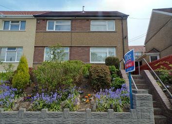 Thumbnail 3 bed semi-detached house for sale in Heol Caredig, Tonna, Neath, Neath Port Talbot.