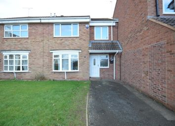 Thumbnail 4 bed semi-detached house to rent in Shackleton Drive, Perton, Wolverhampton