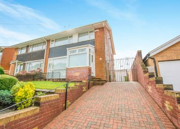 Thumbnail 3 bed semi-detached house for sale in Widecombe Drive, Rumney, Cardiff