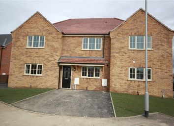 Thumbnail 2 bed terraced house for sale in Hornbeam Close, Ruskington, Sleaford, Lincolnshire