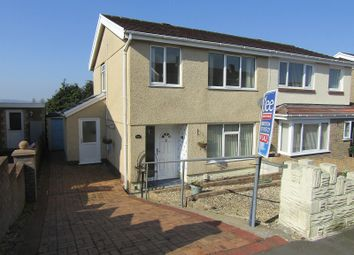 Thumbnail 3 bed semi-detached house for sale in Heol Hafdy, Llansamlet, Swansea, City And County Of Swansea.