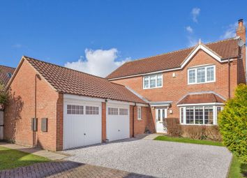 Thumbnail 4 bed detached house for sale in Oakfield Lane, Hemingbrough, Selby