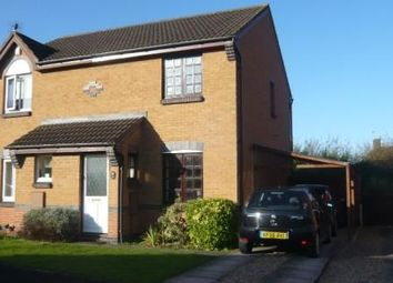Thumbnail 2 bed detached house to rent in Lowther Way, Loughborough