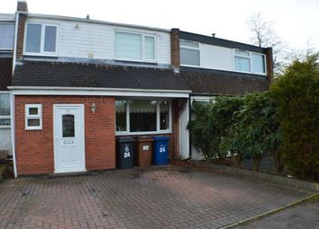 Thumbnail 3 bed terraced house for sale in Gilbert Road, Off Netherstowe, Lichfield, Staffordshire