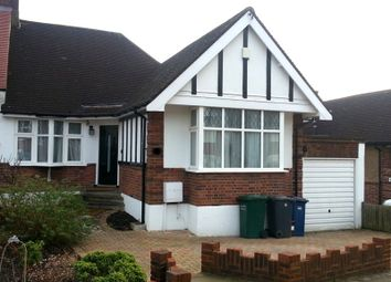 Thumbnail 3 bed detached bungalow to rent in Milton Avenue, Barnet