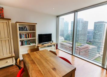 Thumbnail 1 bed flat to rent in The Landmark East Tower, 24 Marsh Wall, Canary Wharf, London