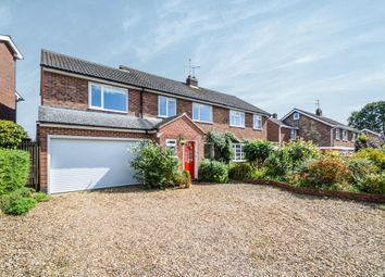 Thumbnail 5 bed semi-detached house for sale in Saddington Road, Mowsley, Lutterworth