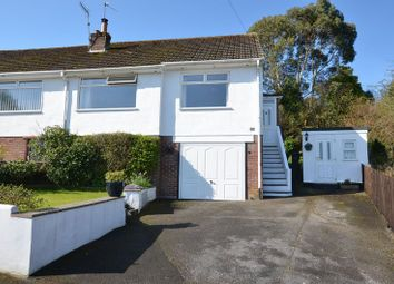 Thumbnail 2 bed semi-detached bungalow for sale in Nether Meadow, Marldon, Paignton