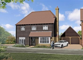 Thumbnail 4 bed detached house for sale in Lapwing Gardens, Evabourne, Wouldham, Rochester, Kent