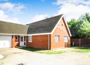 Thumbnail 3 bed detached bungalow for sale in Barnard Close, Gorleston, Great Yarmouth