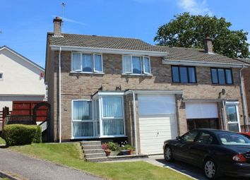 Thumbnail 3 bed semi-detached house for sale in Polgover Way, Par, Cornwall