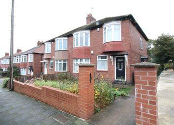 Thumbnail 3 bed flat for sale in Ovington Grove, Fenham, Newcastle Upon Tyne