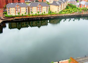 Thumbnail 2 bed flat to rent in Millennium Tower, Salford Quays, Manchester