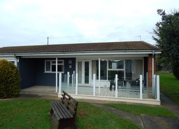 Thumbnail 2 bed property for sale in 23 Broadland Holiday Village, Marsh Road, Oulton Broad, Lowestoft, Norfolk
