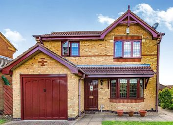 Thumbnail 3 bed detached house for sale in Lowbury Court, Northampton