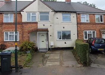 Thumbnail 3 bed terraced house to rent in Oakhurst Road, Birmingham
