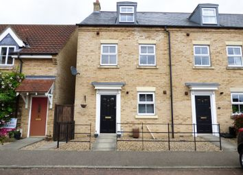 Thumbnail 3 bedroom end terrace house for sale in Field Acre Way, Long Stratton