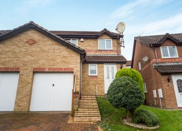 Thumbnail 3 bed semi-detached house for sale in Dan Yr Ardd, Caerphilly