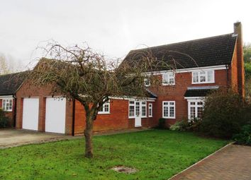Thumbnail 4 bedroom detached house for sale in Rookery Close, St. Ives, Huntingdon