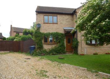 Thumbnail 2 bed semi-detached house for sale in Bader Close, Bury, Huntingdon