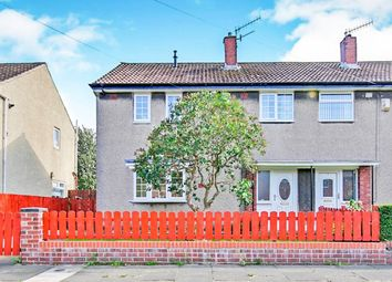 Thumbnail 3 bed semi-detached house for sale in Fossefeld, Leam Lane, Gateshead